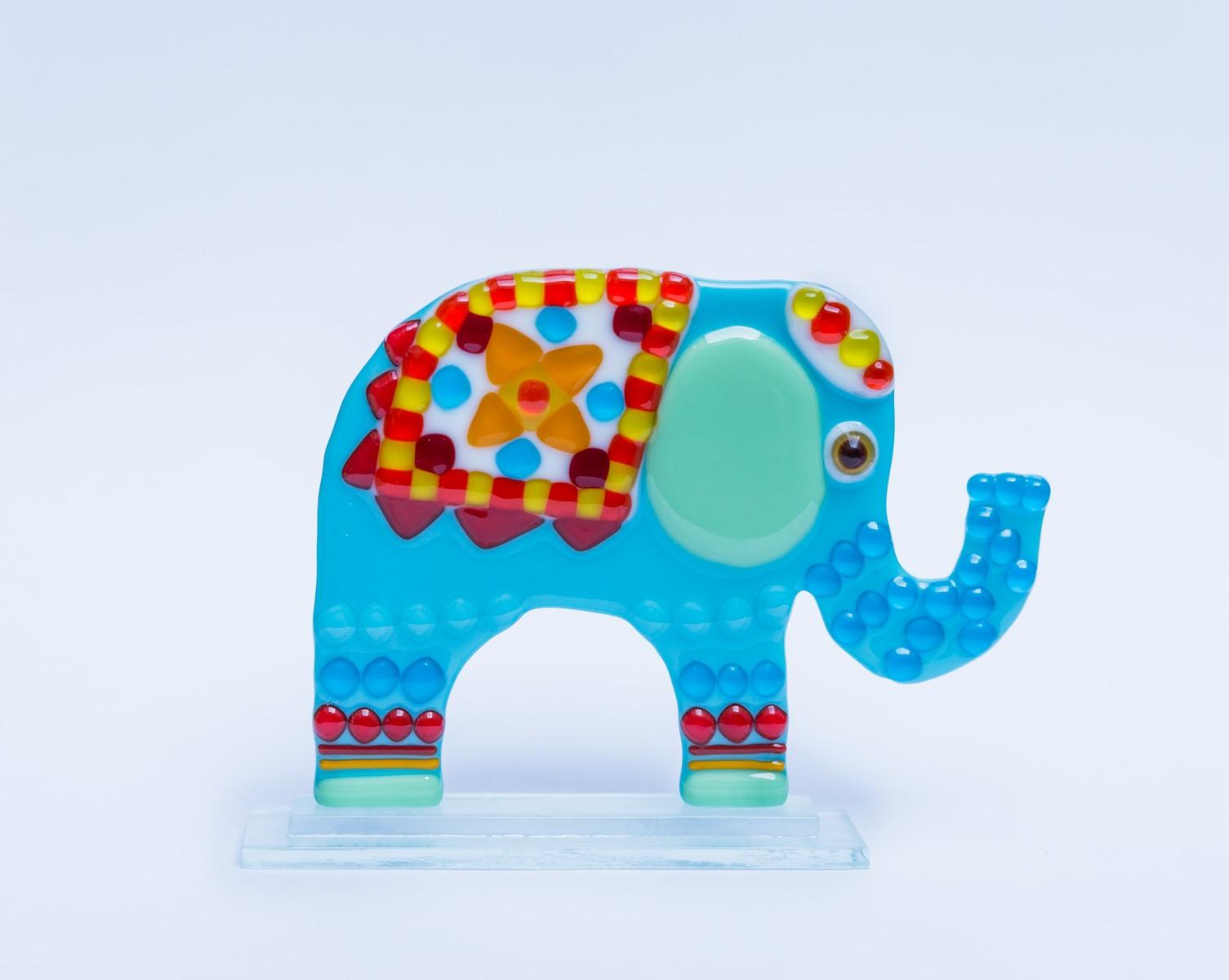 Fusing glass Elephant